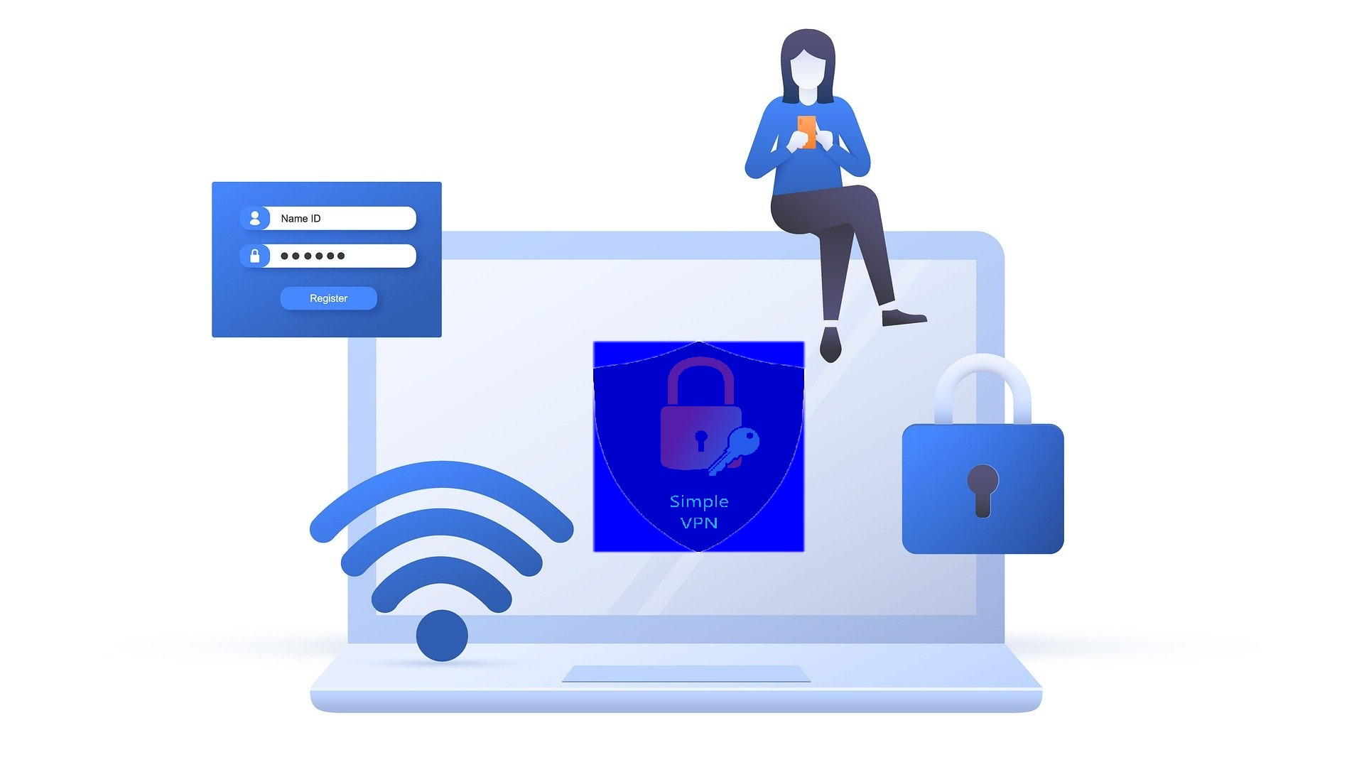 Simple Easy to use secure VPN